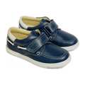 Leofex Pantofi piele Bleumarin