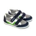 Hokide® Pantofi sport piele Gri verde