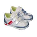 Avus® Pantofi sport piele Alb Argintiu