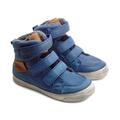 D.D.Step® Ghete piele imblanite Albastru 304021