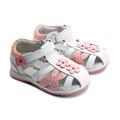 Sunway® Sandale piele Alb-Roz