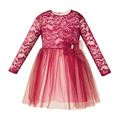 Al-Da® Rochie eleganta Ella Bordo 106111