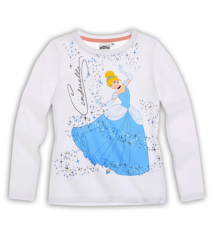 Princess® Bluza (2-8 ani) Alb