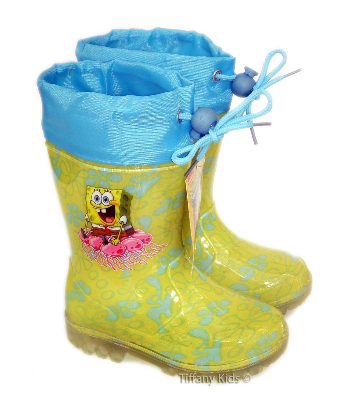 Sponge Bob® Cizme cauciuc  Galben