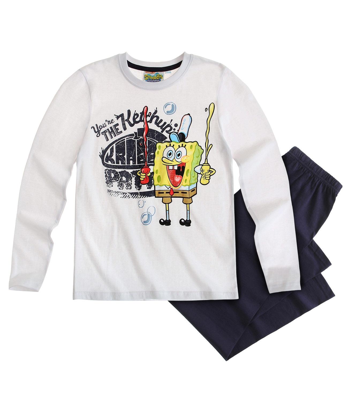 Sponge Bob ® Pijama Alb