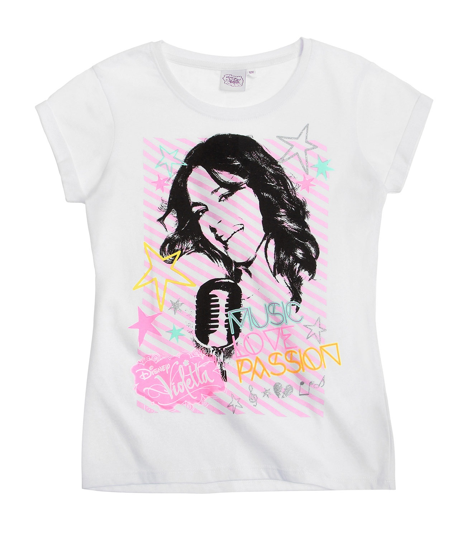 Violetta ® Tricou Alb