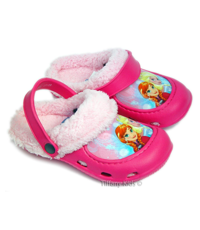Frozen® Saboti tip Crocs Fuxia