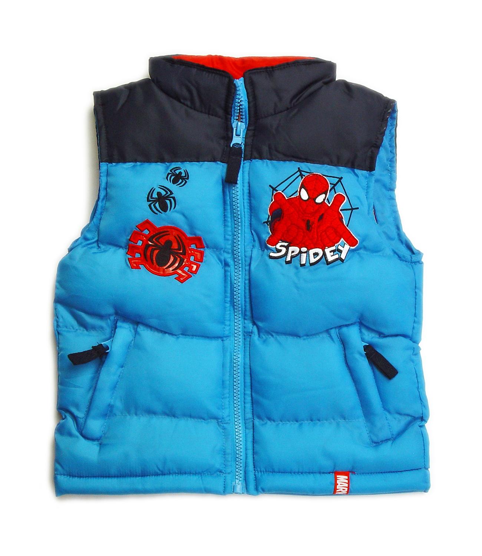 Spider-Man® Vesta matlasata  Albastru