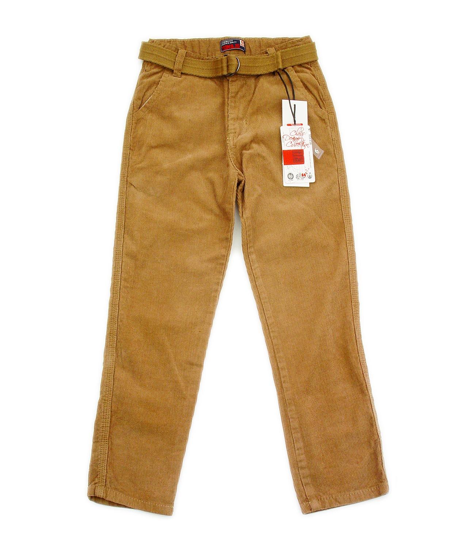 Pantaloni raiati (114-162) Camel