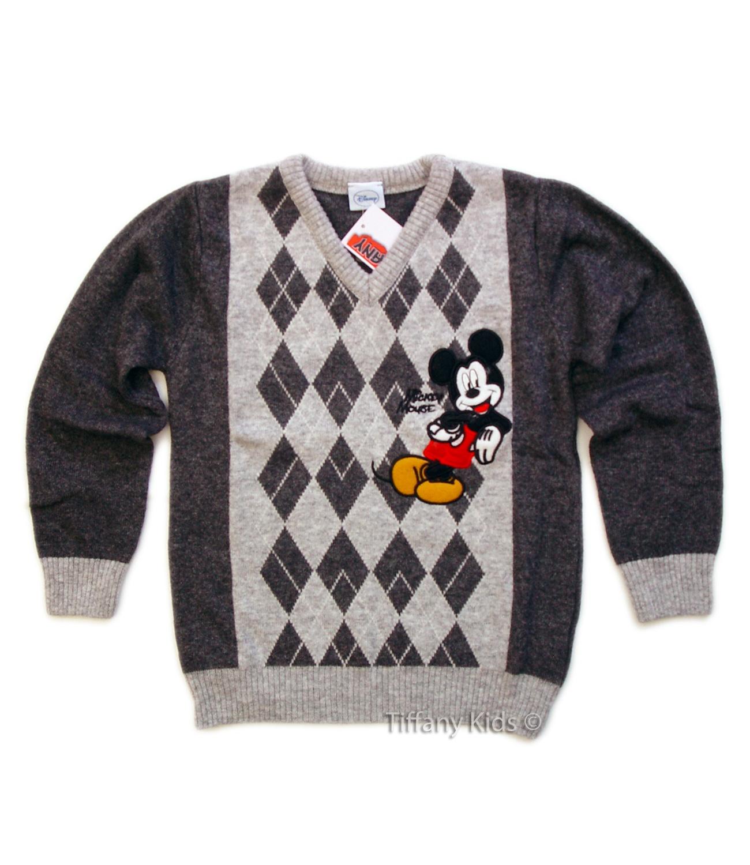 Mickey® Pulover (4-5 ani) Gri