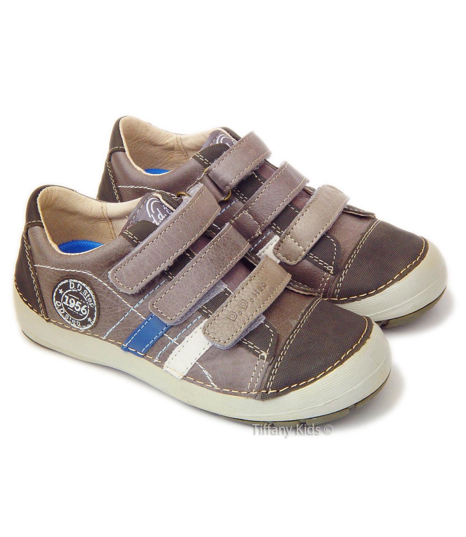 D.D.Step® Pantofi sport piele Gri