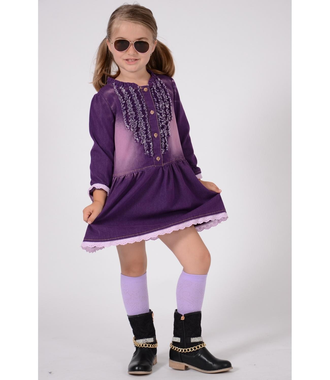 Art® Rochie Blug Violet