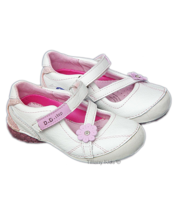 D.D.Step® Balerini piele Alb 2638500
