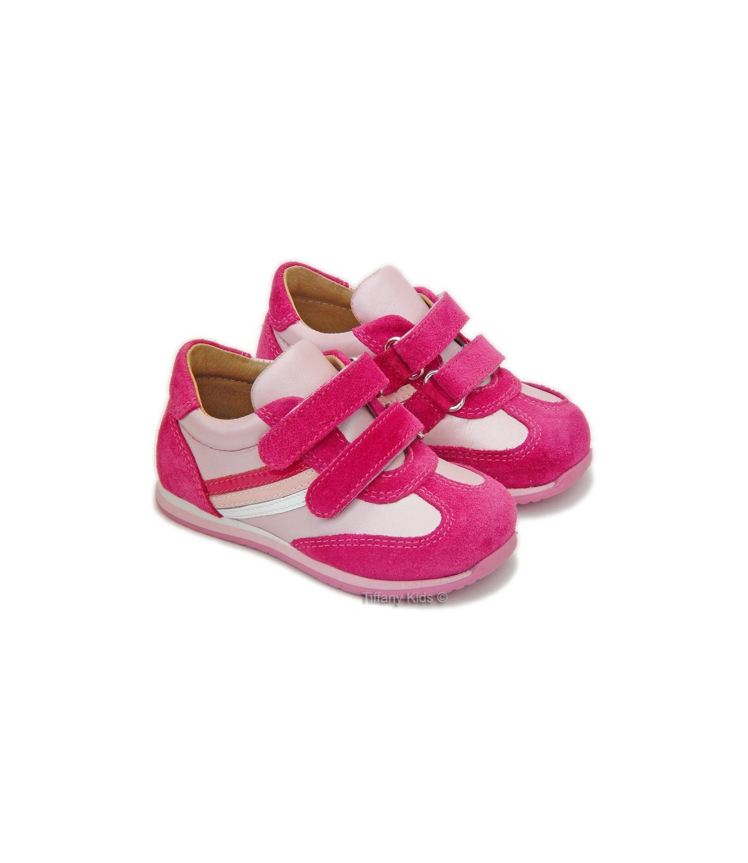 Avus® Pantofi piele Ciclam