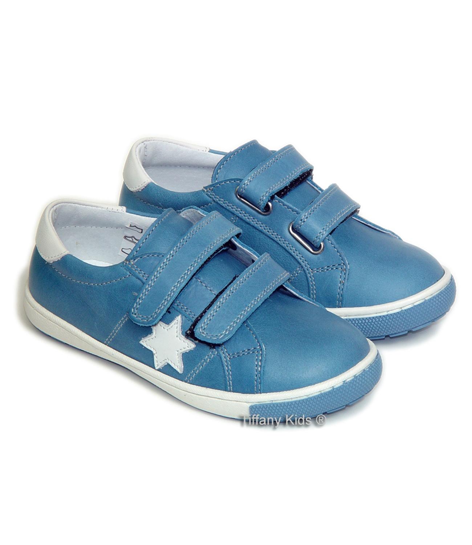 PJ® Pantofi sport piele Skate Albastru