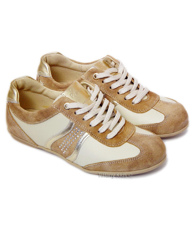 PJ® Pantofi piele  Bej