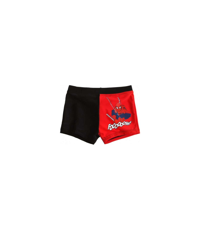 Spiderman® Costum baie (98-128) Negru