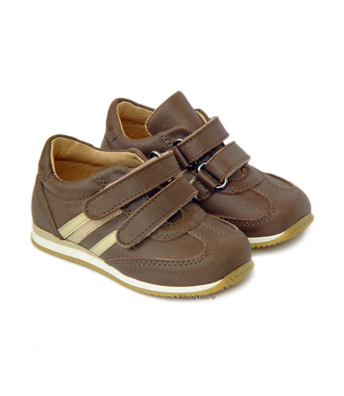Avus® Pantofi sport piele Tabac