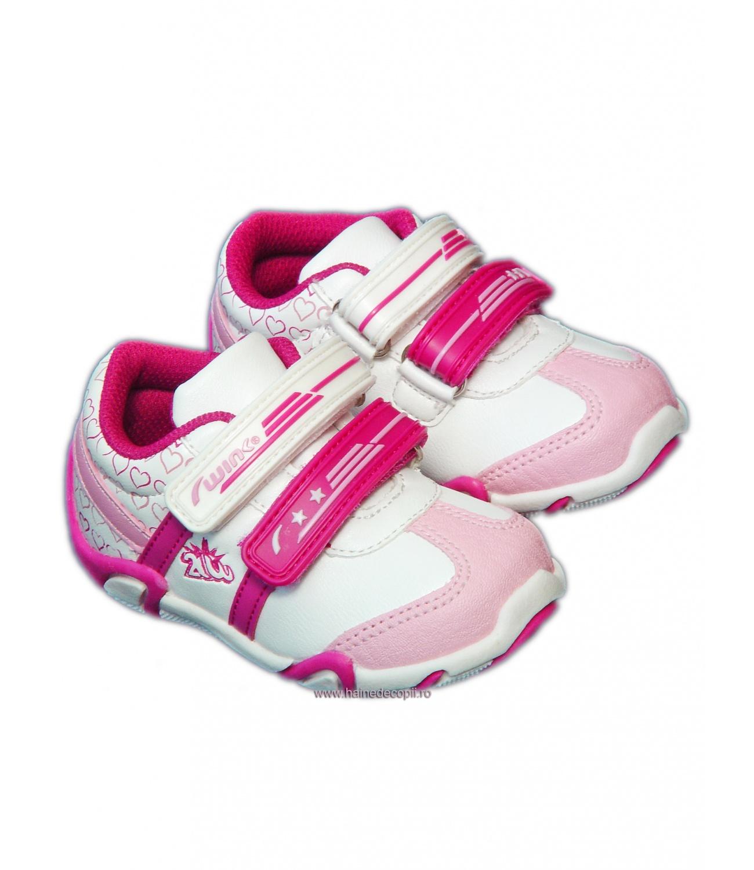 Wink® Pantof sport Alb-roz