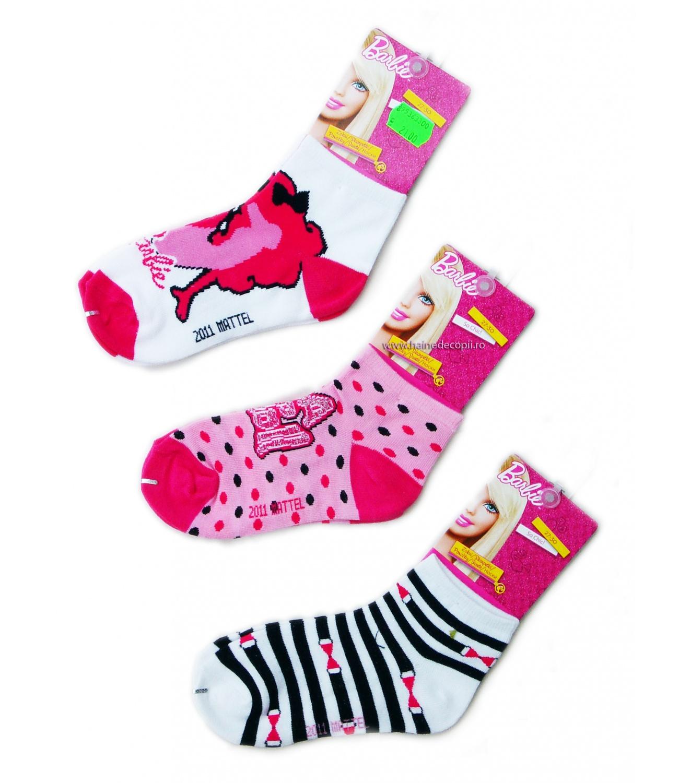 Barbie® Set 3 sosete (23-34) Multicolor