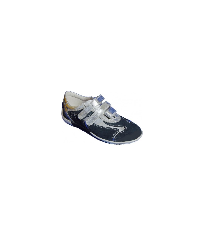 Pantofi sport piele MELANIA  Blumarine-argento