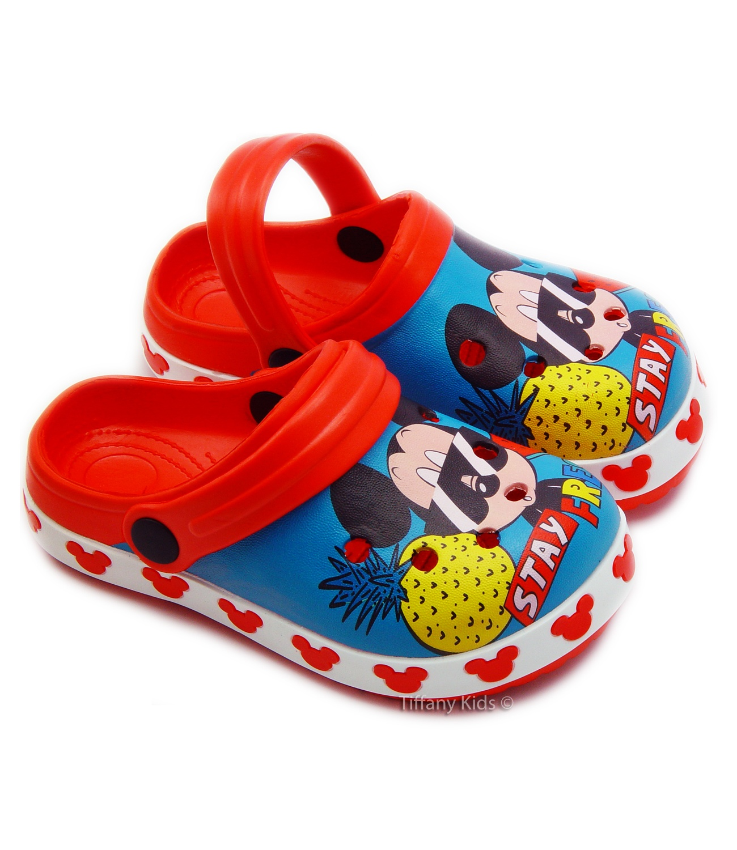 Mickey® Saboti tip Crocs Multicolor