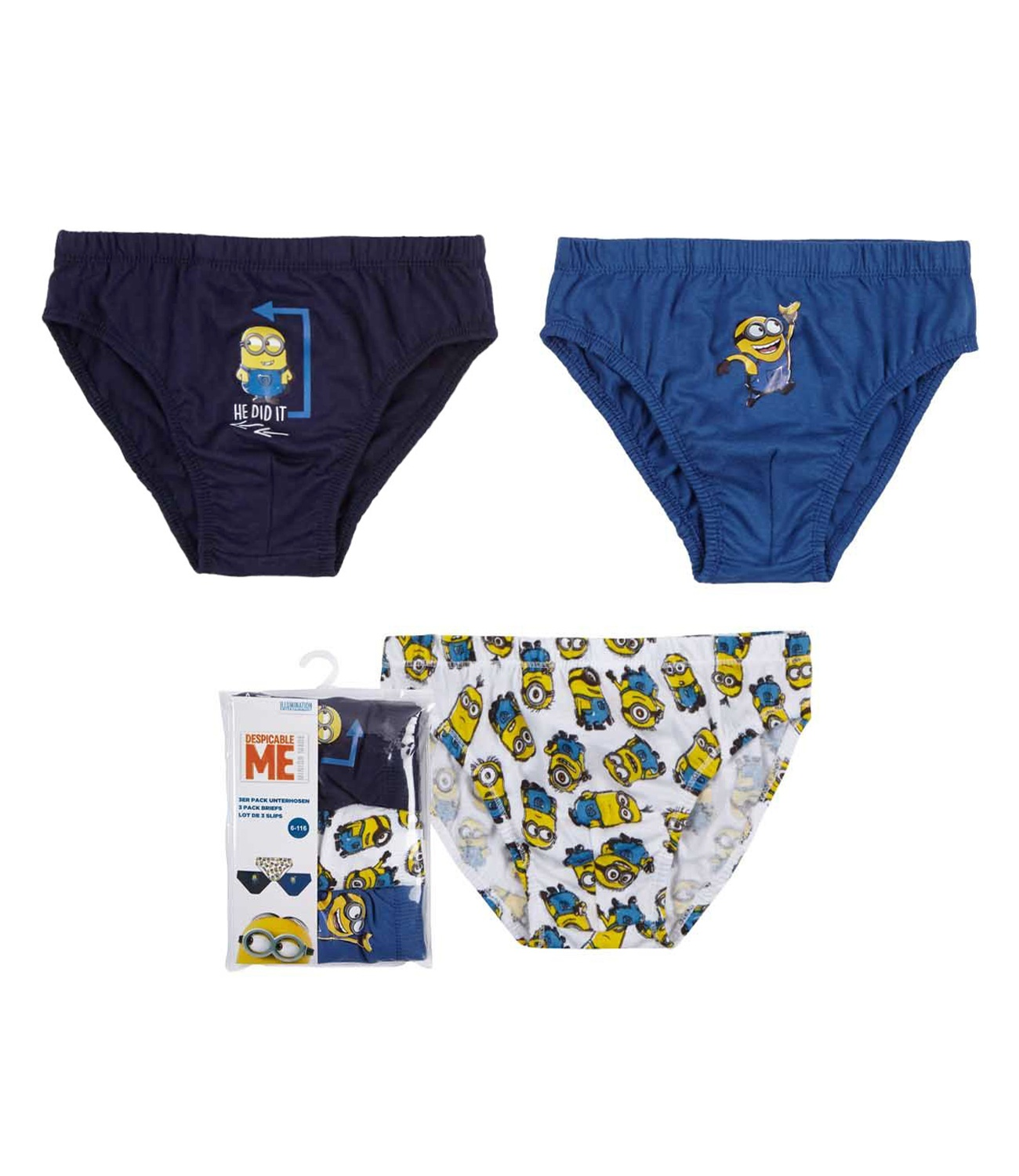 Minions® Set 3 chilotei Multicolor 1