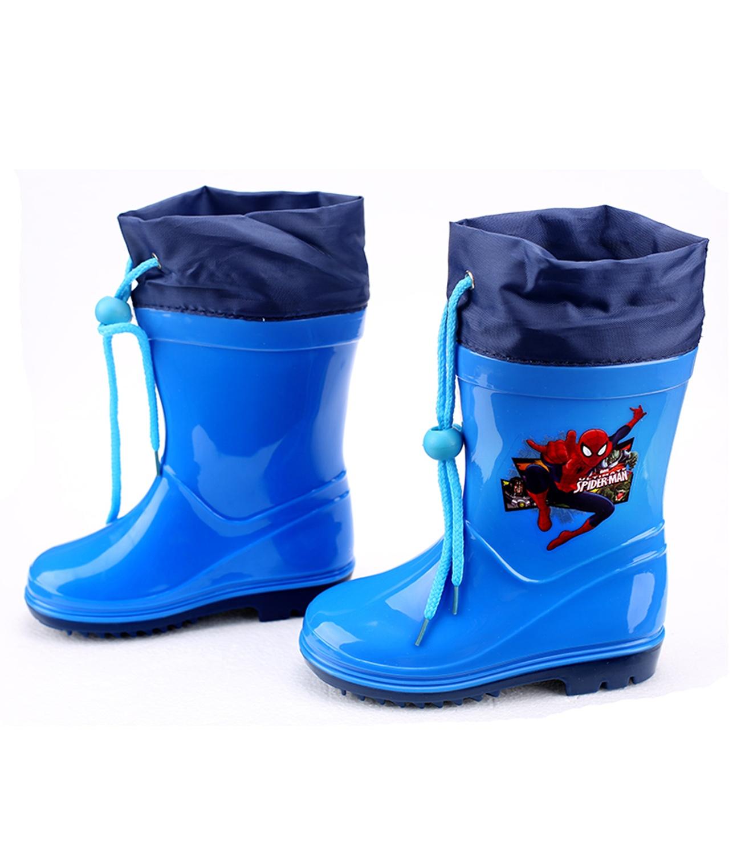 Spider-Man® Cizme cauciuc Albastru-Bleumarin