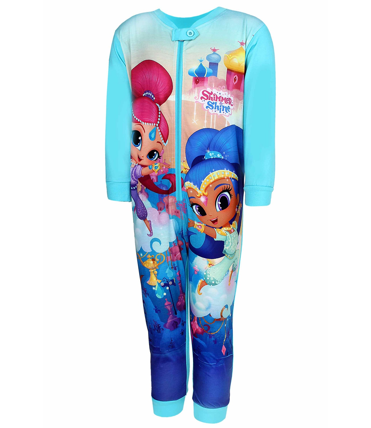 Shimmer and Shine® Salopeta pijama turcoaz 8334172