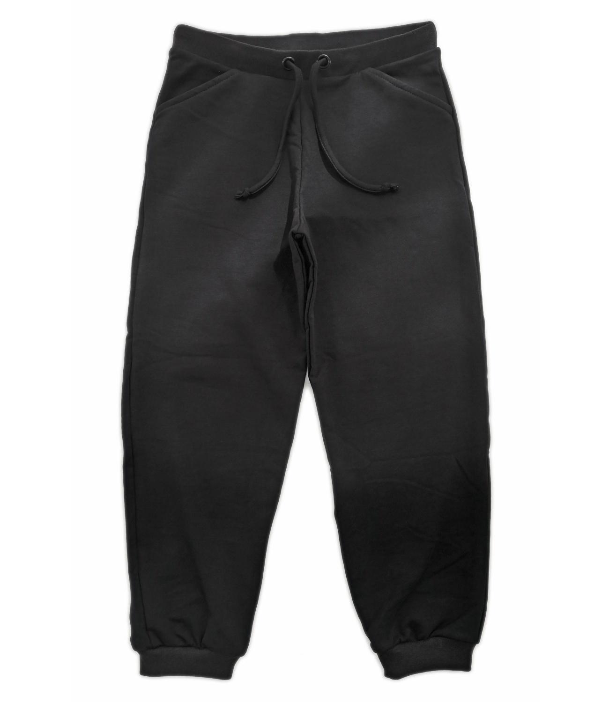 Pantaloni trening subtiri negri 121810