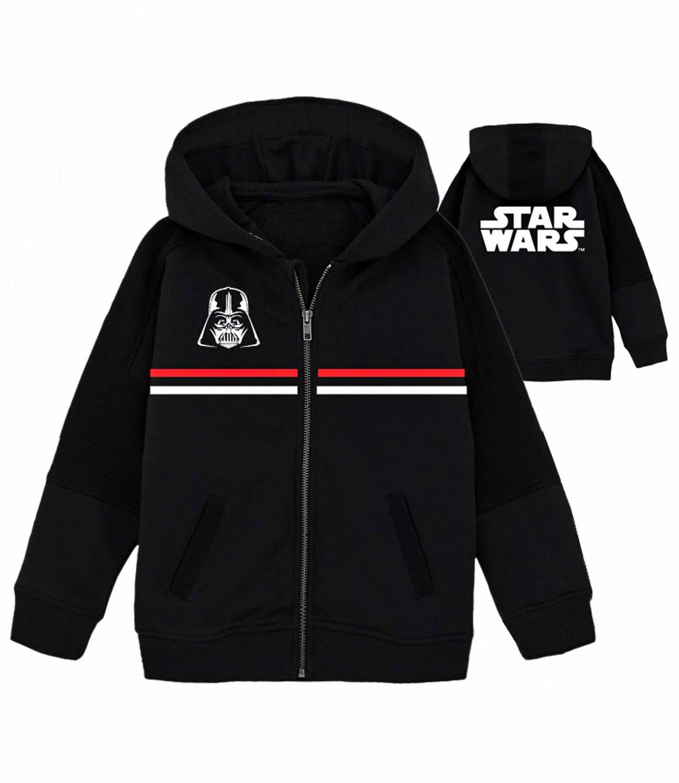 Star Wars® Hanorac negru cu gluga 809137