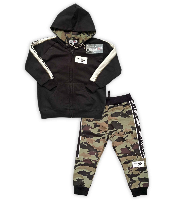 American Rap® Trening flausat Negru 624503