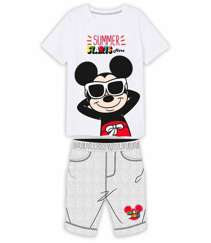 Mickey® Compleu vara alb gri 889009