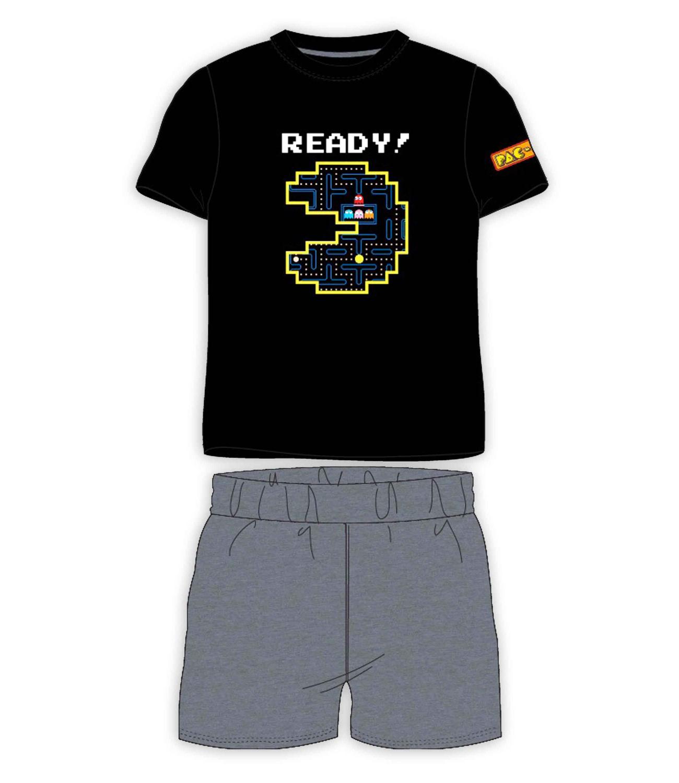 Pac-Man® Pijama vara neagra 903399