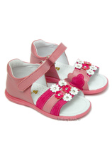 Avus® Sandale piele Roz-ciclam