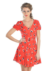 Raspberry® Rochie Floral Rosu