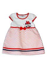 Minnie® Rochie Alb Rosu