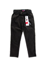 Pantaloni raiati (114-162) Negru