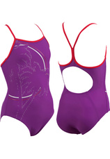 Arena® G.Palm Jr One Piece Violet