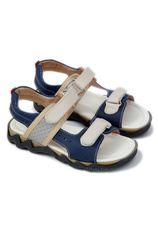 Leofex Sandale piele Bleumarin
