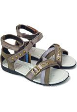 D.D.Step® Sandale piele Multicolor
