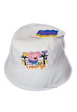 Peppa Pig® Palarioara (50-52) Alb