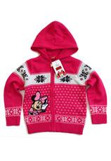 Minnie® Cardigan tricotat (98-134) Ciclam
