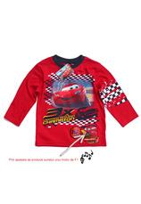 Cars® Bluza cu sunet (98-128) Rosu