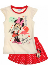 Minnie® Compleu (92-128) Crem