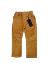 Pantaloni catifea raiata (98-128) Bej