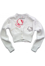 Hello Kitty® Bolero (3-7 ani)  Alb