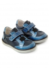 Avus® Pantofi piele Bleumarin