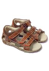 Hokide® Sandale piele Maro mix