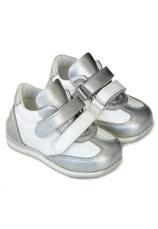 Avus® Pantofi sport piele Alb Argint